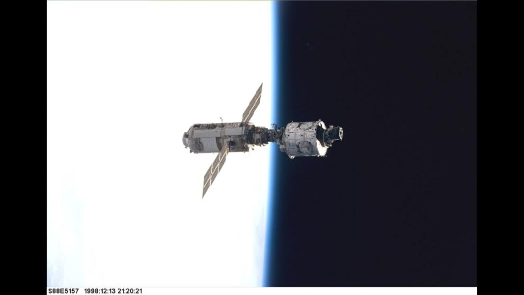 Zarya utility module