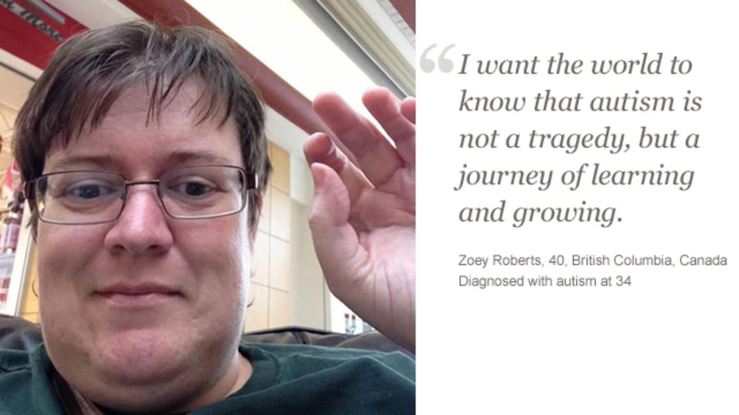 irpt adult autism Zoey Roberts