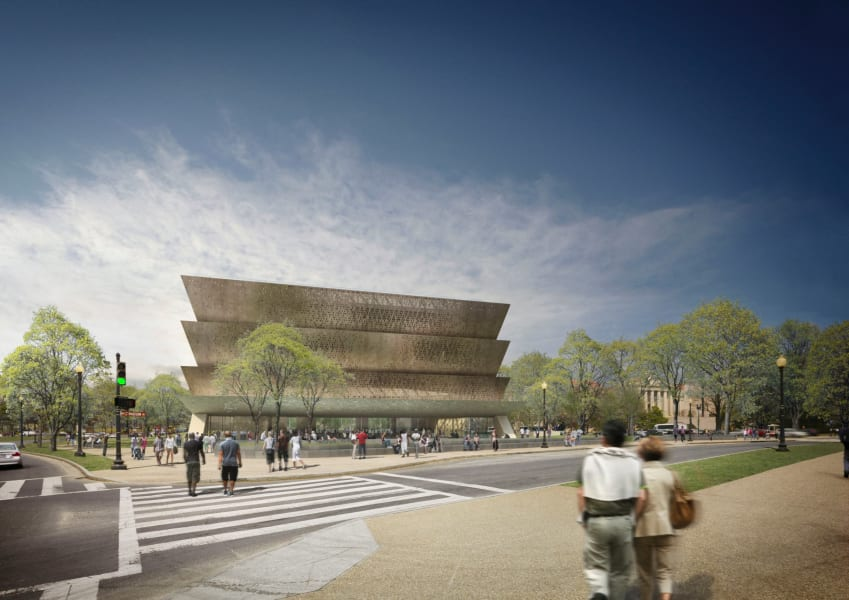African architects David Adjaye Smithsonian Washington DC