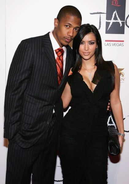 Nick Cannon Kim Kardashian September 2006