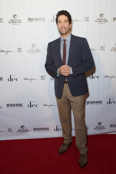 David Schwimmer Michigan Avenue Magazine party 2013