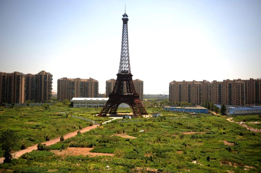 eiffel tower housing program china