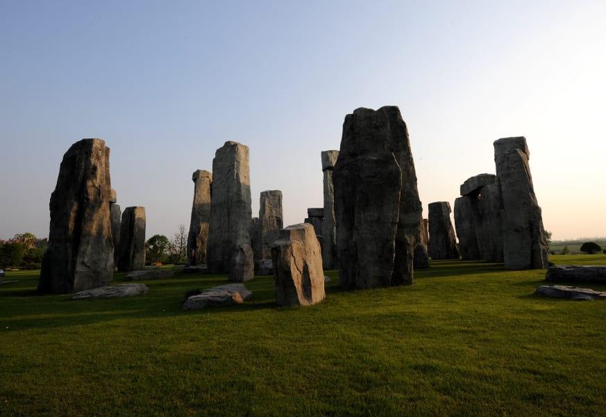 stonehenge replica china