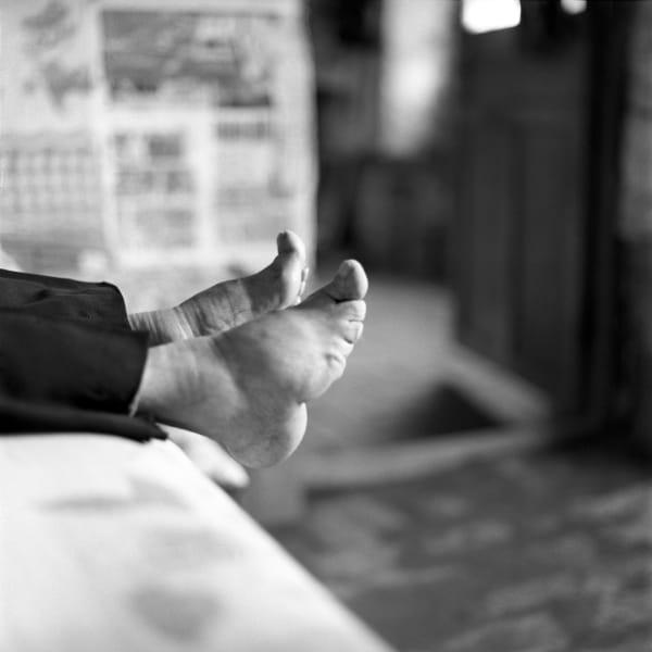 bound feet Zhang Yun Ying 1