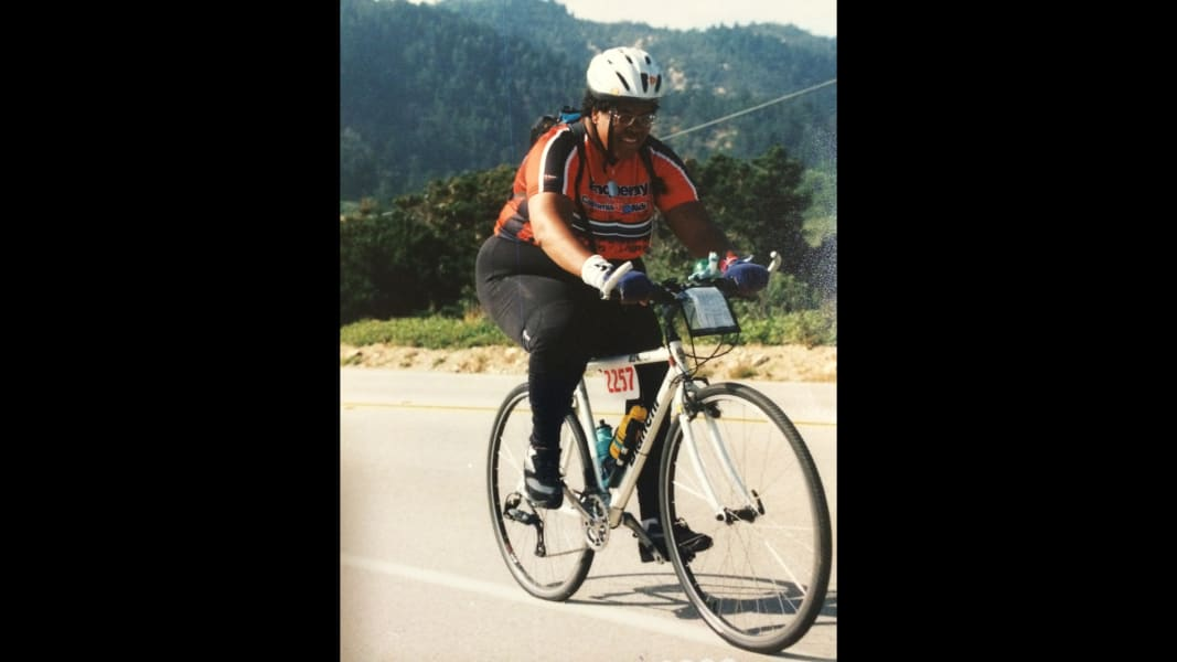 01.1 aids ride 400 pounds
