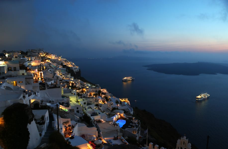 santorini island greece RESTRICTED