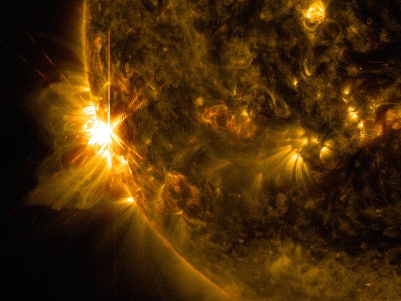 solar flare NASA