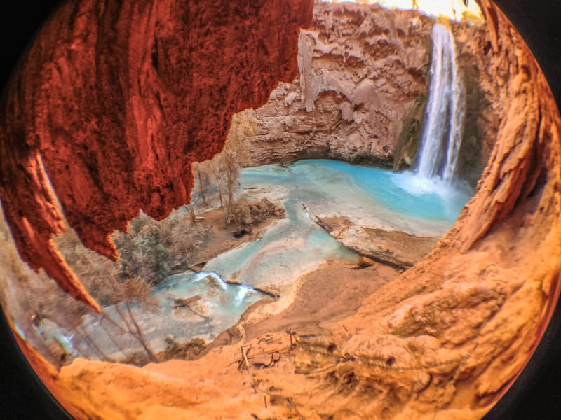 US remote vacation spots-Mooney Falls