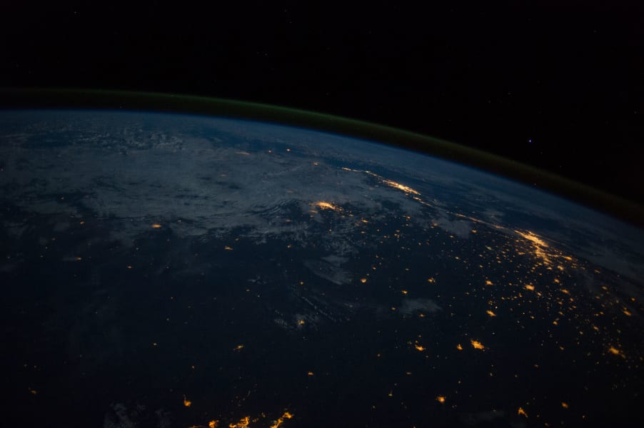 Rio de Janeiro and Sao Paulo as Seen From the International Space Station