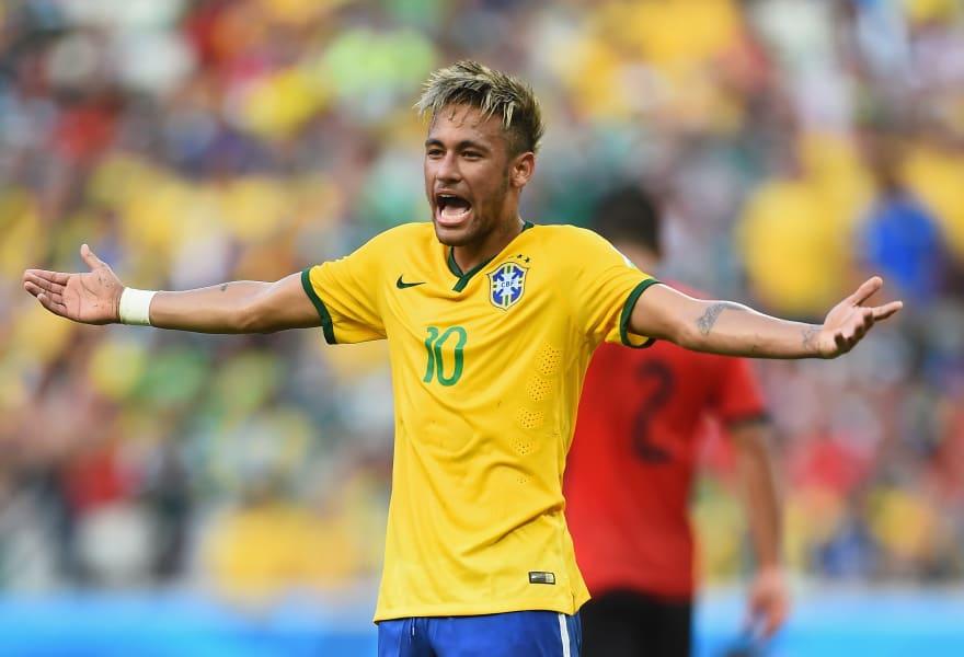 Neymar frustrated