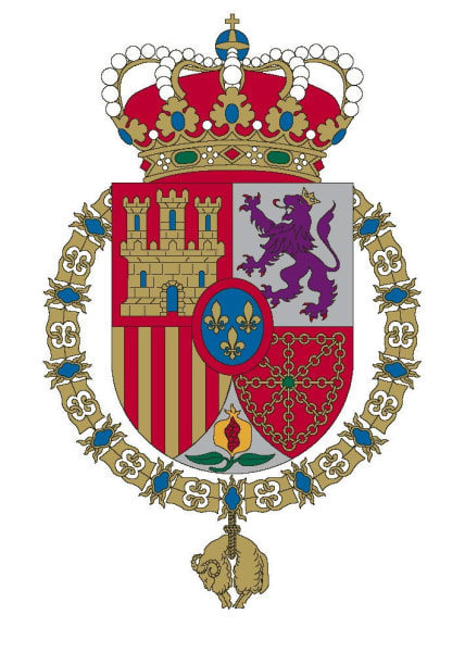 getty spain royalty new coat of arms
