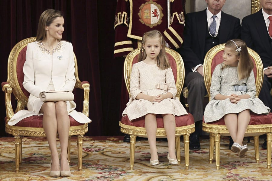 getty spain royal family new queen and pricesses