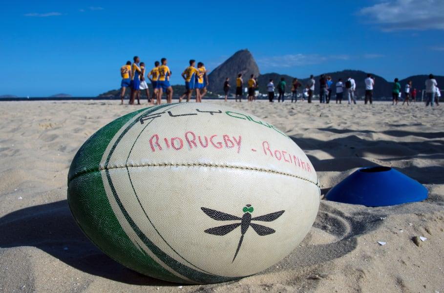 rugby ball ball brazil