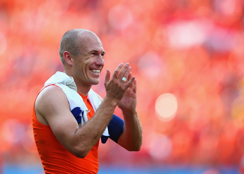 getty wc robben celebrates victory