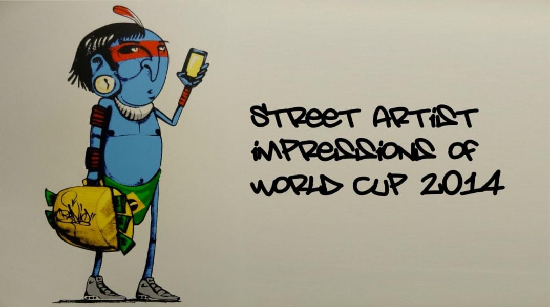 Restricted Brazil World Cup Graffiti