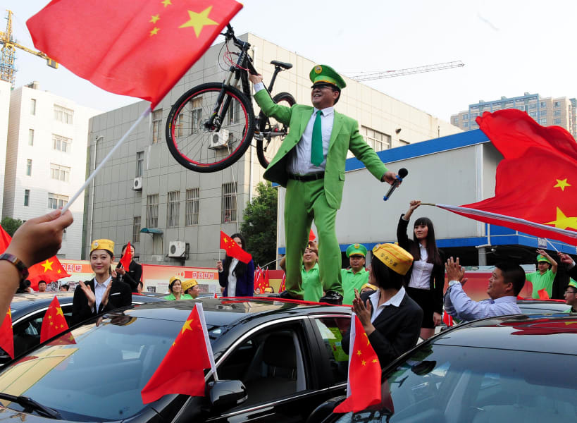 Chen Guangbiao cars