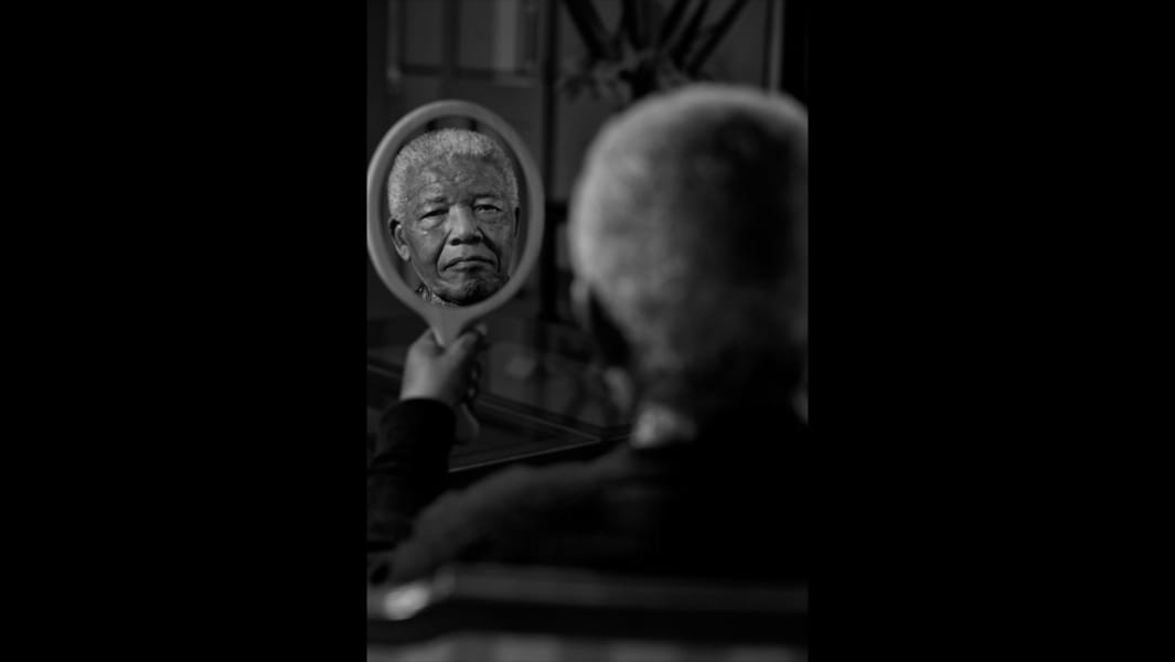 Nelson Mandela portrait RESTRICTED