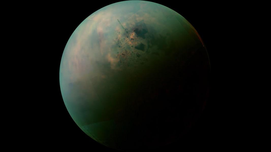 04 cassini discoveries - titan lakes