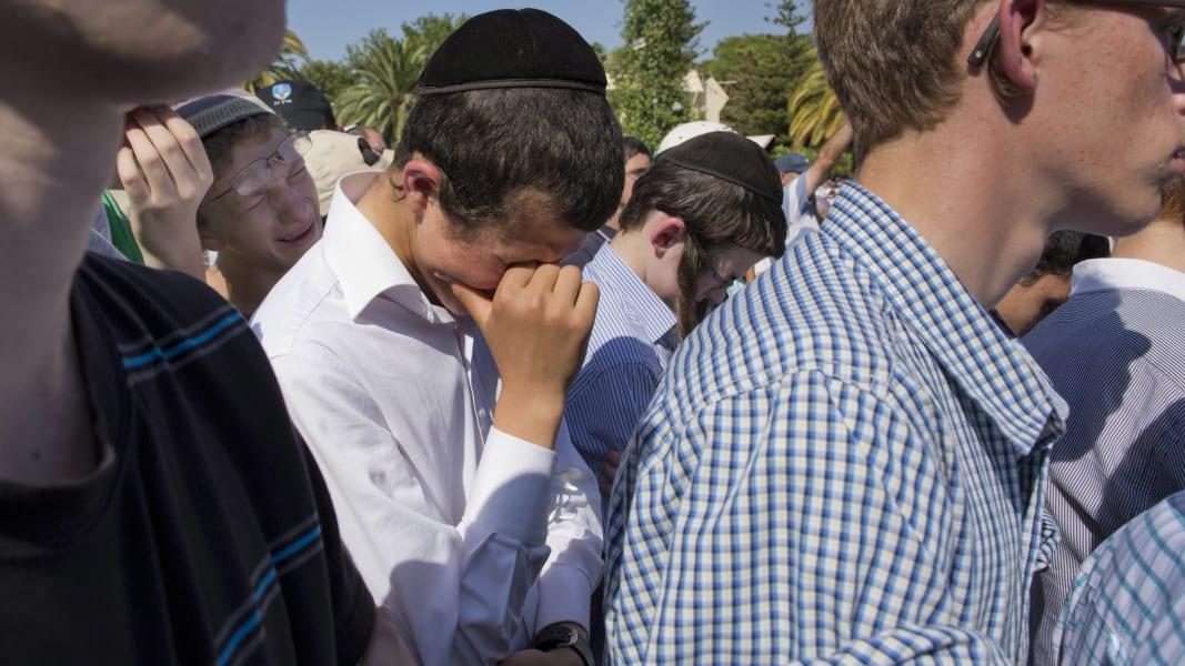 RESTRICTED 03 israel funerals 0701