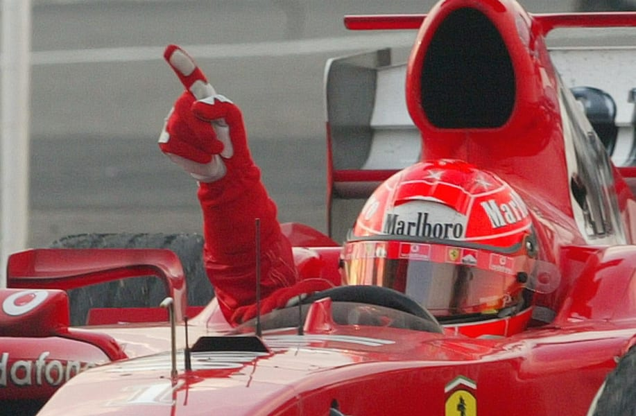 schumacher 2005 win