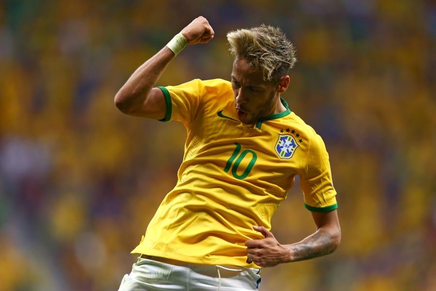 Neymar goal celebration