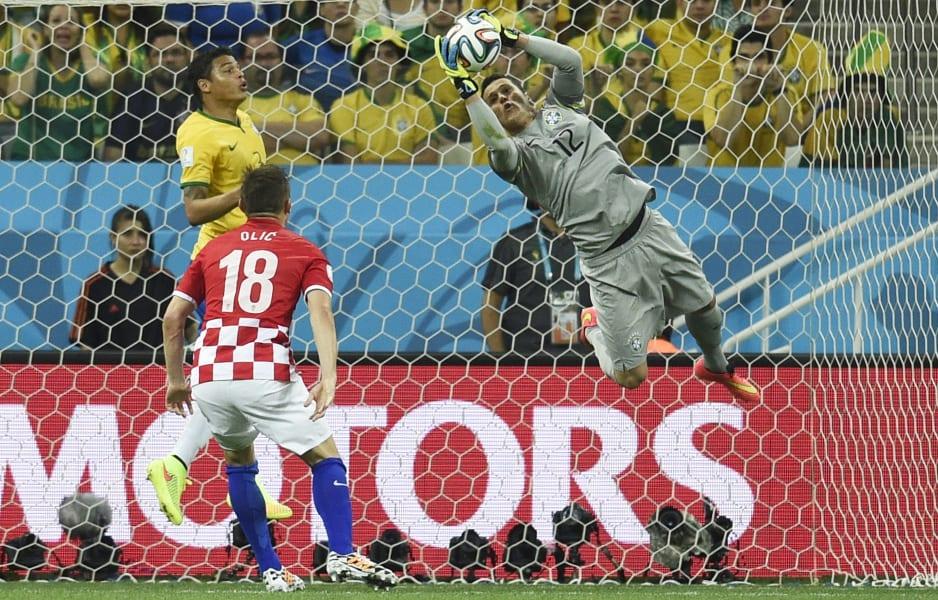 Julio Cesar Save World Cup