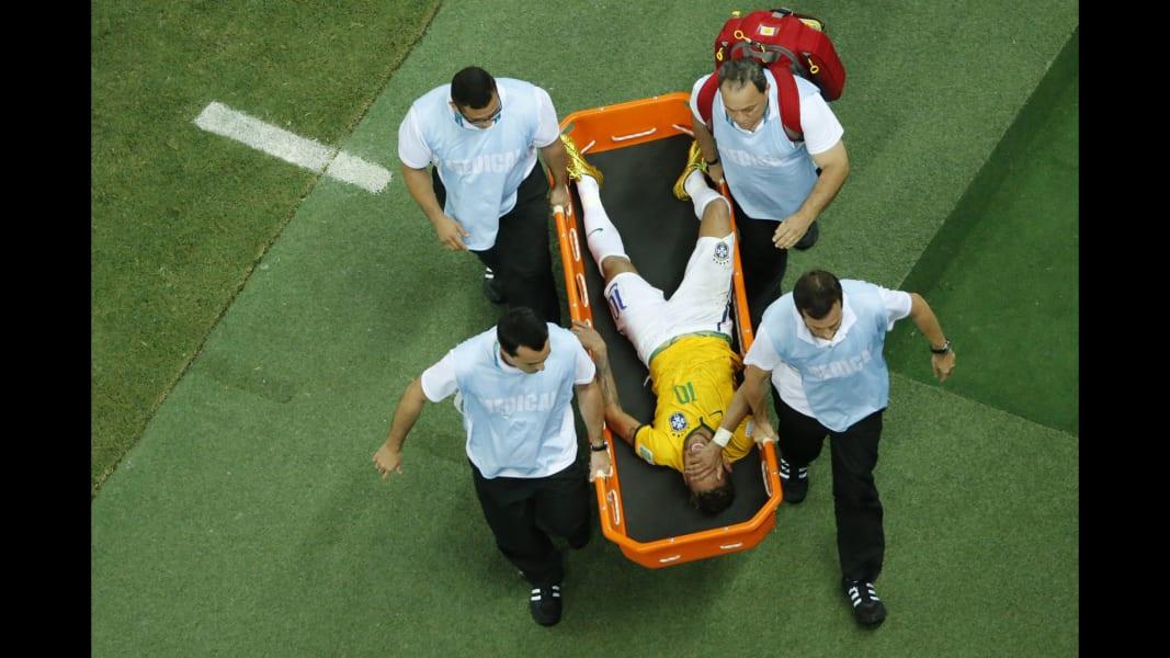 Neymar injured 0704