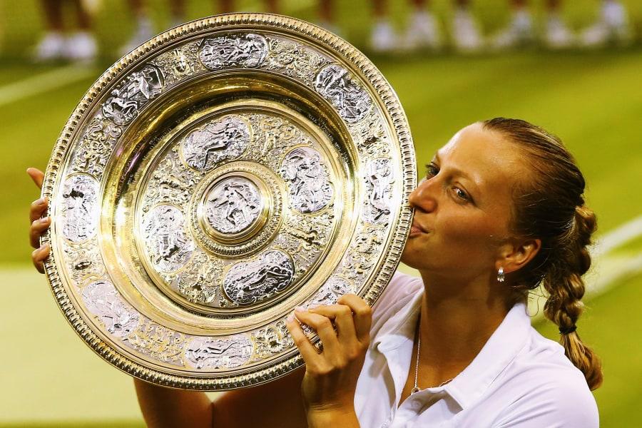 Kvitova trophy