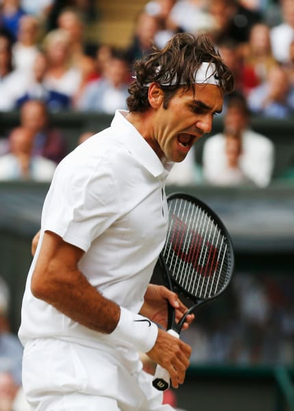 Wimbledon Federer