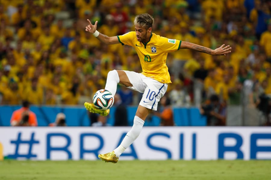 neymar brazil germany