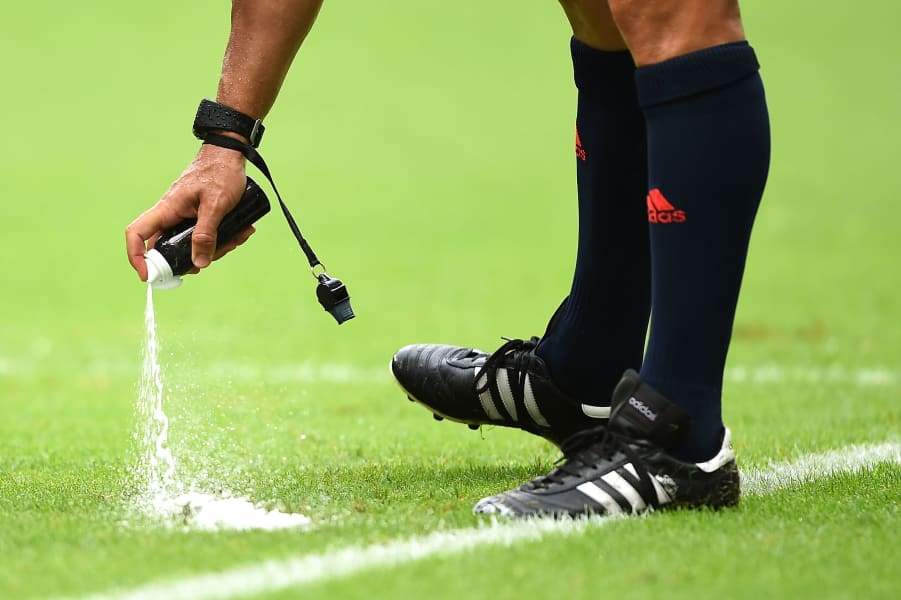world cup spray