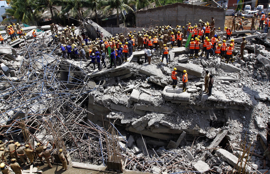 india building collapse 5