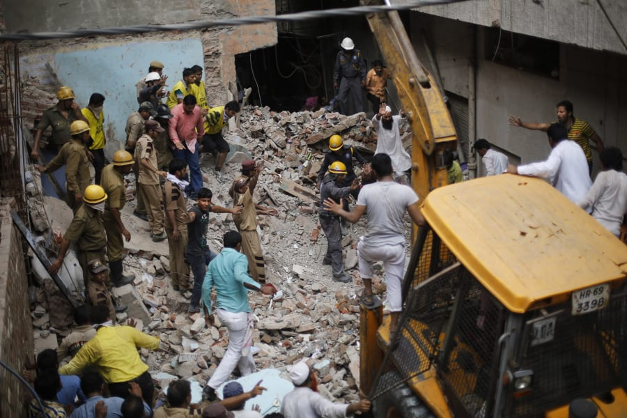 india building collapse 7