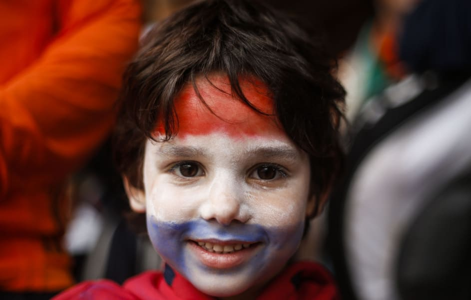 getty wc netherlands kid fan