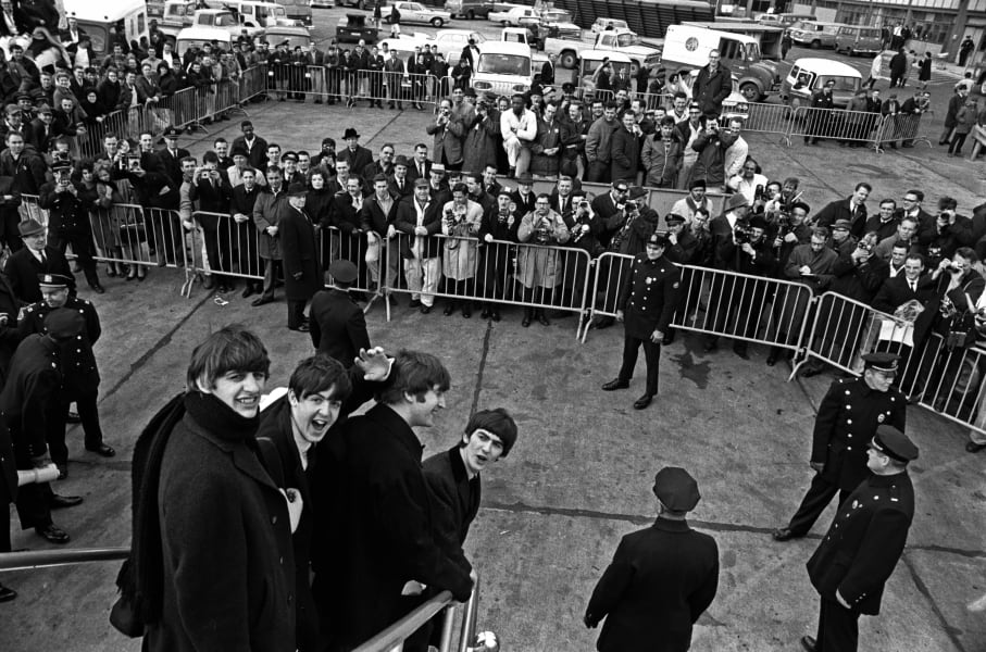 03 Beatles Harry Benson 0710 RESTRICTED