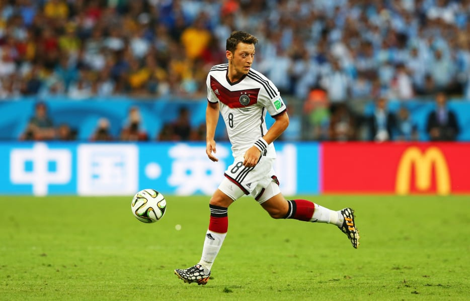 Mesut Ozil World Cup Final