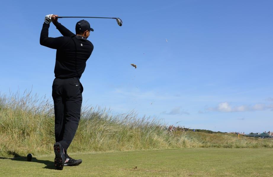 Tiger Woods 2014 British Open
