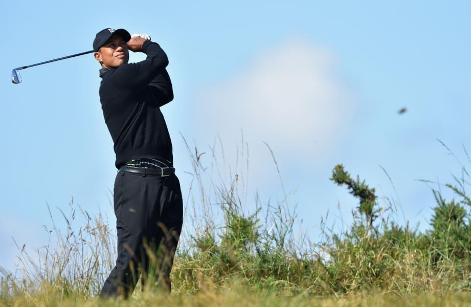 Tiger Woods British Open Preparation