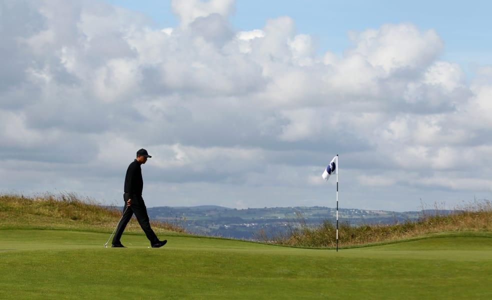 Tiger Woods Open Hoylake