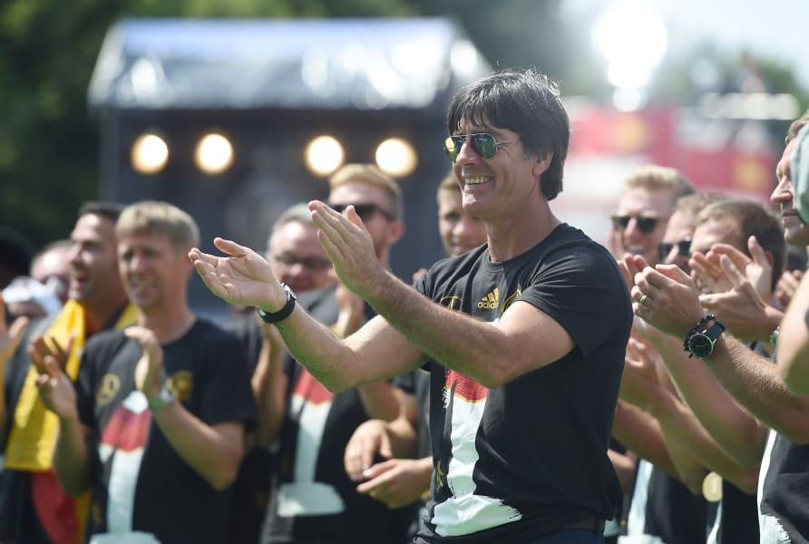 Germany parade coach Loew
