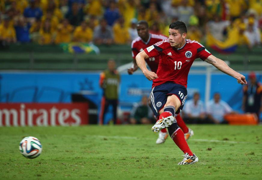 James Rodriguez Penalty