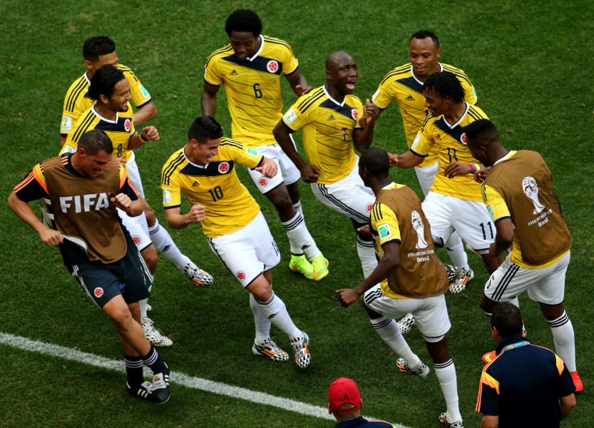 James Rodriguez Colombia Team