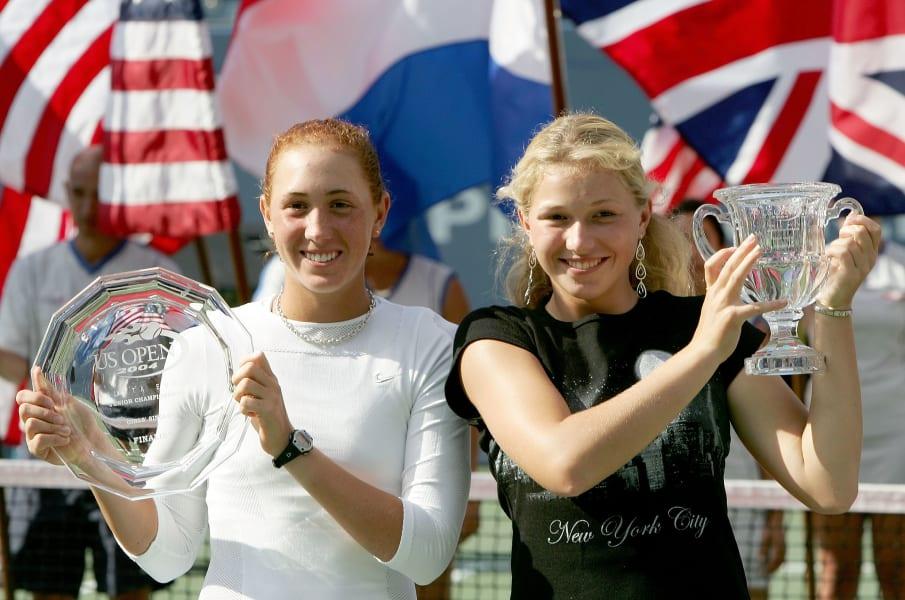 michaella krajicek 2004 us open girls title
