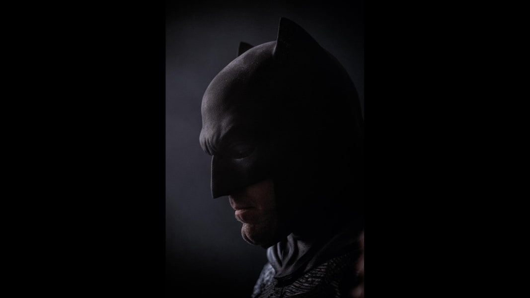 Batman close up