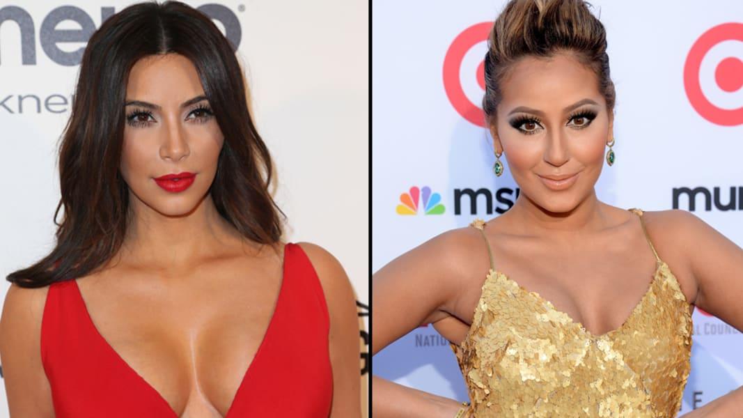 Kim Kardashian Adrienne Bailon split