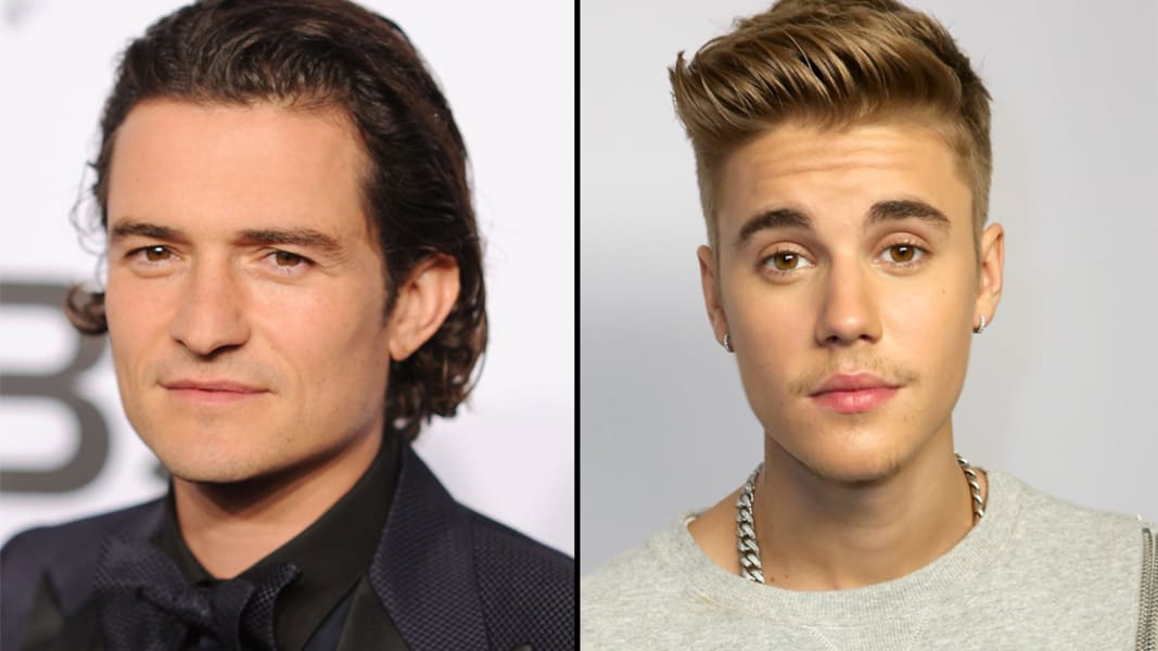 Orlando Bloom Justin Bieber split