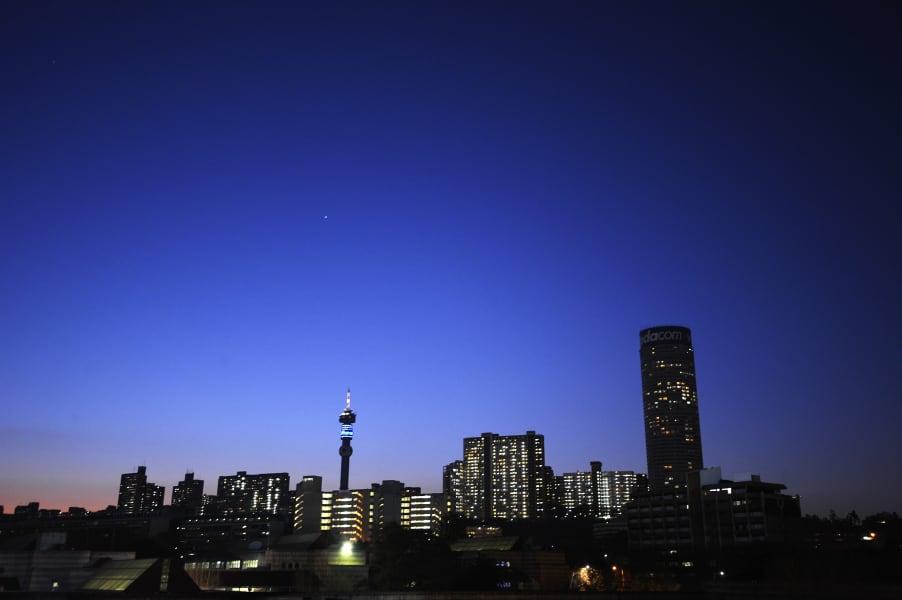Johannesburg skyline file