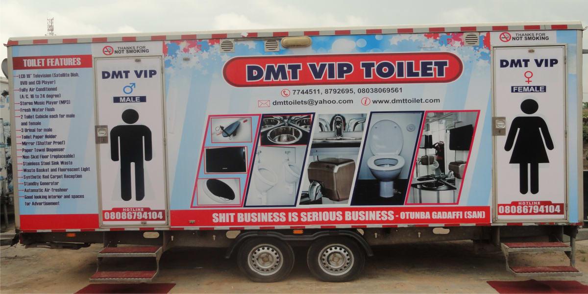 Nigeria weddings toilets