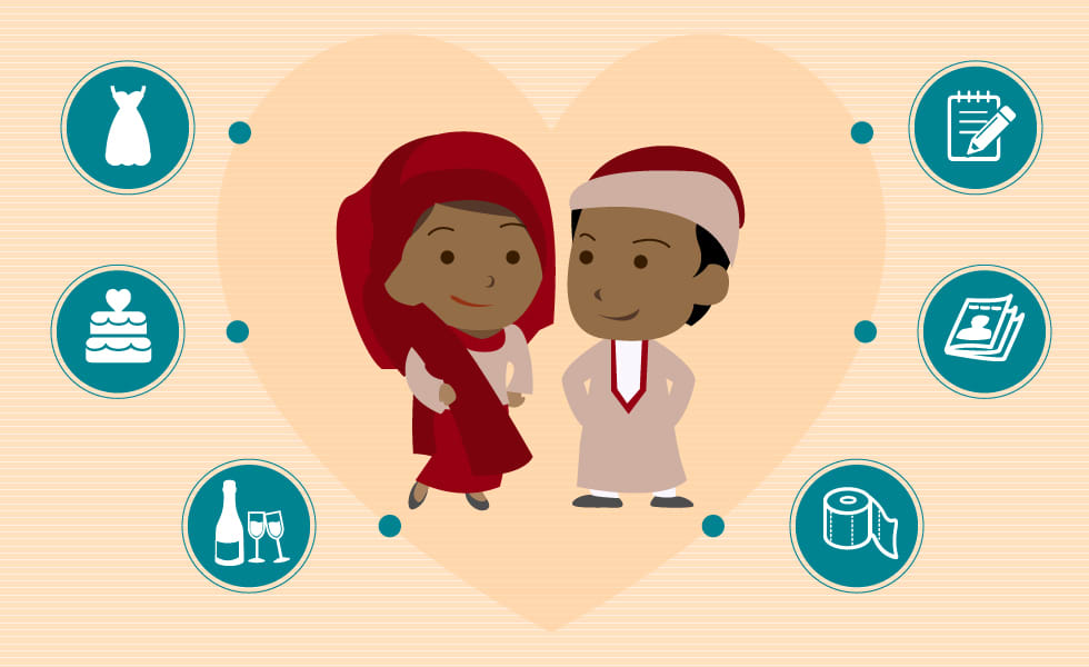 nigerian wedding entrepreneurs illustration