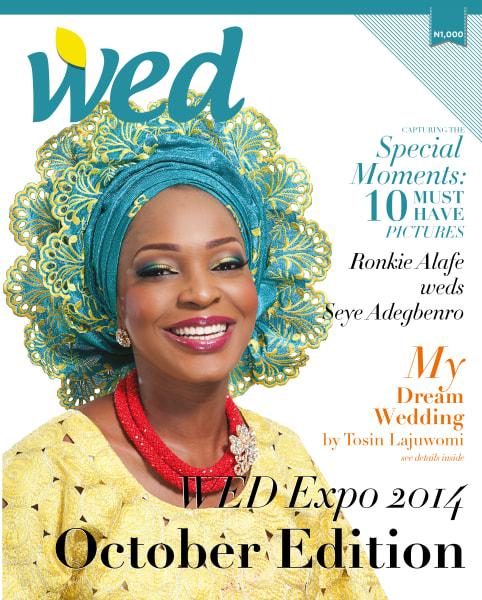 nigerian wedding Akin Eso/WED Magazine